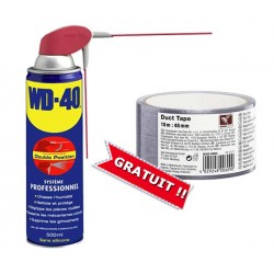 PACK WD-40 500ml + Scotch Américain 10m