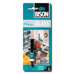 Colle transparente spéciale verre BISON