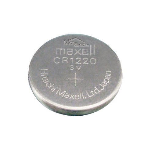 Pile plate CR1220 MAXELL