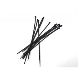 Collier de Serrage Plastique Noir 5/250