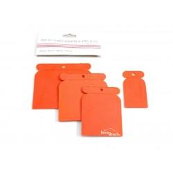 Kit de palette de mastic 4 PS Plastic