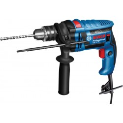 Perceuse à percussion 650W en coffret GSB-13RE BOSCH