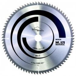 Disque MultiMatériaux 305mm 80T pour scies à onglet BOSCH