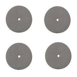 Pack de 4 disques émeri de polissage 22,5mm DREMEL 425