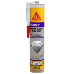 Mastic colle transparent Sikaflex -112 Crystal Clear