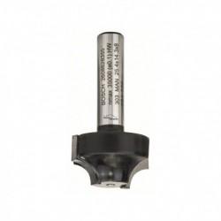 Fraise à profiler E Ø25.4mm Rayon 6.3mm BOSCH