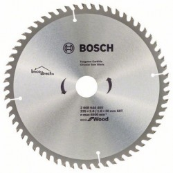 LAME CIRCUL 235x2.8/1.8x30 60T Eco Wood BOSCH