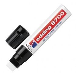 Marqueur permanent jumbo à peinture Blanc EDDING 8700