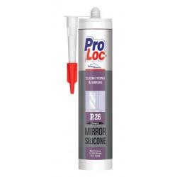 Mastic de Silicone spécial Miroirs 310ml PROLOC