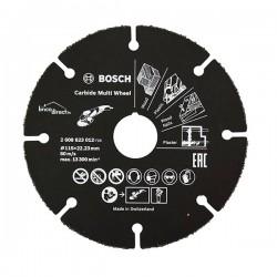 Disque Multi matériaux Multi Wheel en carbure Noir 115mm BOSCH