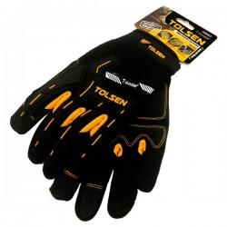 Paire de gants rembourrées de mécanicien TOLSEN