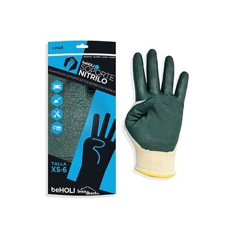 Paire de gants en Latex pour le bricolage BEHOLI Taille L