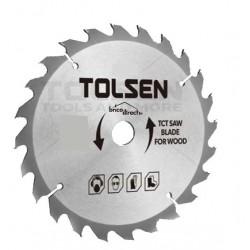 Disque bois 185mm pour scies circulaires TOLSEN
