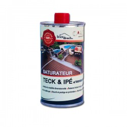 Saturateur ipé & teck 500 ml