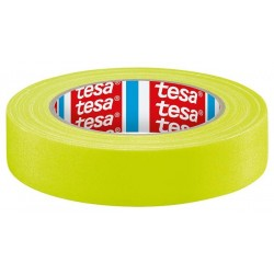 Gaffer Tape TESA Jaune Fluo 25Mx19mm