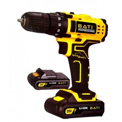 Perceuse-Visseuse sans fil double batteries 20V BATI BVP20