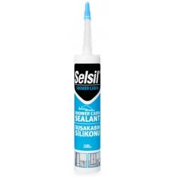 Mastic de silicone spécial Douches et SdB SELSIL