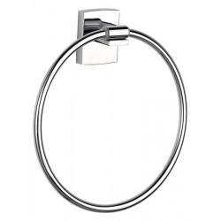 Porte-serviettes en anneau chromé sans perçage TESA KLAAM 40266