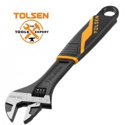 Clé à molette 200mm TOLSEN