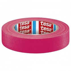 Gaffer Tape TESA Rose Fluo 25Mx19mm
