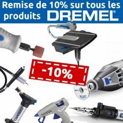 Remise de 10% sur tous les produits DREMEL
