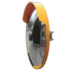 Miroir convexe de stationnement jaune 80cm