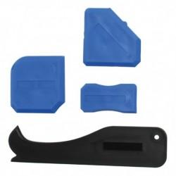 Jeu outils de lissage pour les mastics et le silicone KRAFTMANN 85205