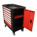 Servante d'atelier 7 tiroirs et 197 outils KRAFTMANN