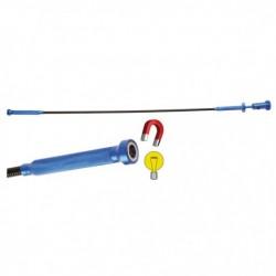 Outil de ramassage magnétisé avec LED 615 mm BGS 3174