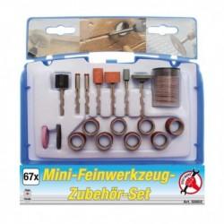 Jeu de 67 accessoires pour mini-outil de précision KRAFTMANN 50803
