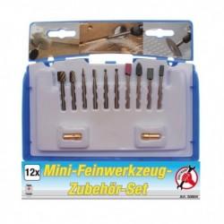 Jeu de 12 accessoires pour mini-outil de précision KRAFTMANN 50804