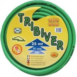 Tuyau d'arrosage vert 25 mètres Diam.16mm TRIBIVER