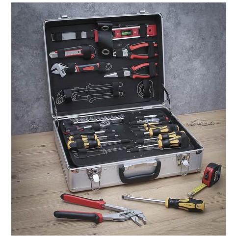 Valise d'outils 129pièces KRAFTMANN