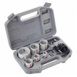 Coffret de 6 Scies à cloche 20-64mm spéciale électricité BOSCH
