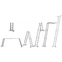 Echelle Multifonctions 4x4 en aluminium 4.20m