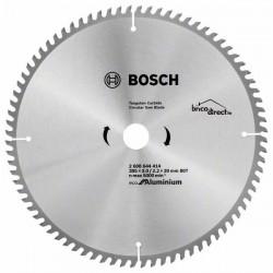Disque pour Aluminium 305mm 80T pour scies à onglet ECO BOSCH