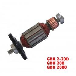 Induit Rotor 1614010711 BOSCH
