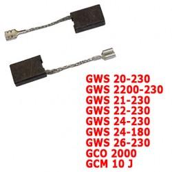 Kit de balais de charbons 1607014171 BOSCH