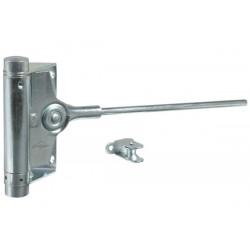 Ferme-porte à ressort Argent pour porte lourde IBFM 91002