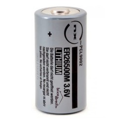 Pile lithium ER26500M C 3.6V 6.5Ah NX