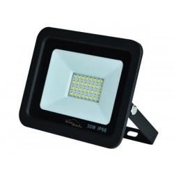 Projecteur LED 30W blanc et noir