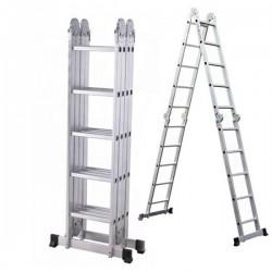 Echelle Multifonctions 4x5 en aluminium 5.70m