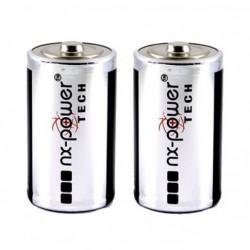 Pack de 2 Piles D Alkaline NX