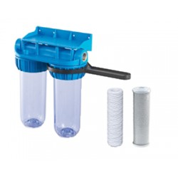 Système de filtration double NUOVO FILTRE