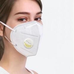 Masque facial KN95 avec valve de respiration