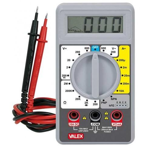 Ampèremètre testeur digital P3000 VALEX
