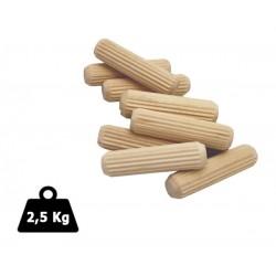 Tourillons chevilles en bois 8x30 2.5Kg MICART