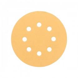 Disque Abrasif pour ponceuse excentrique 125mm P60 BOSCH