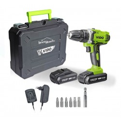 Perceuse-visseuse double batteries Li-Ion 18V WIDO