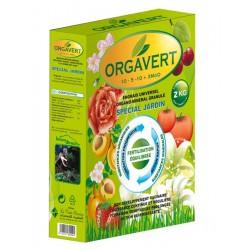 Engrais universel Organo-Minéral en granulés 2Kg ORGAVERT